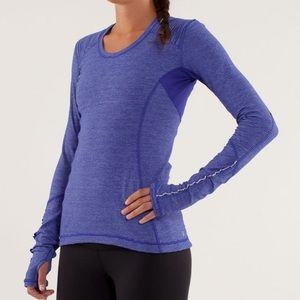 Lululemon | Purple Star Runner Long Sleeve